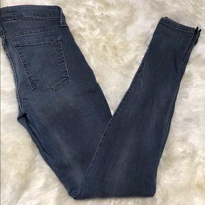 Joe's Jeans Skinny Zip Bottom Jeans
